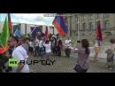 Армяне опять танцуют Кочари в Берлине ДЖАН