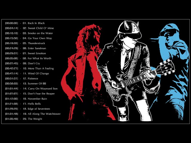Best Rock Songs Of All Time | Greatest Classic Rock Songs by Great Bands