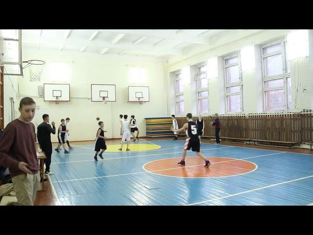 Баскетбол 125 гимназия - 159 лицей (18.11.17)