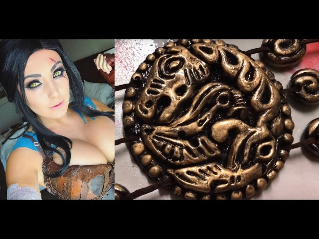 HOW TO MAKE A KHAL DROGO BELT (HOW TO RESIN CAST/ SILICONE MOLD/MONSTER CLAY)