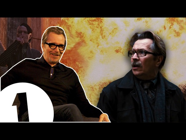 I was freezing my nuts off! Gary Oldman on Batman, bangs and baddies.