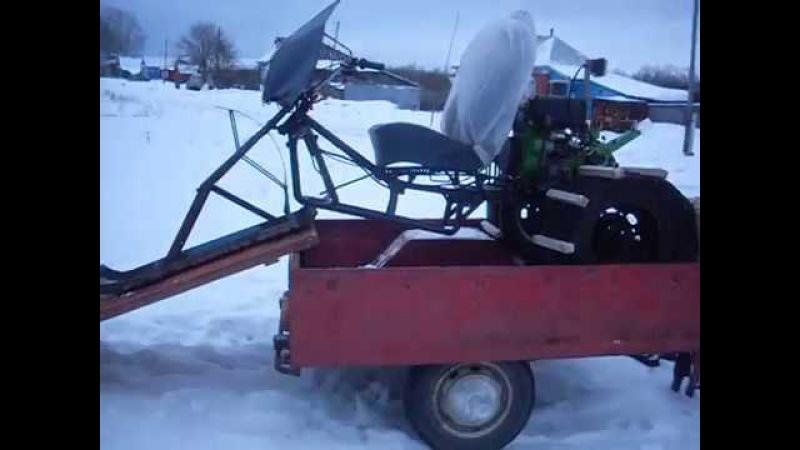 мотоблок для зимы.