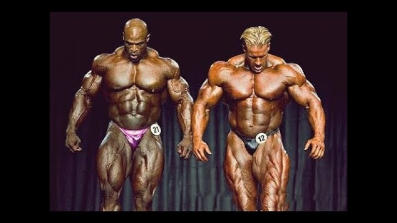 Jay Cutler VS Ronnie Coleman - Battle on The Mr Olympia Stage