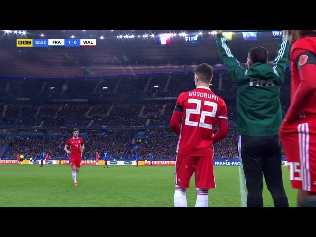 Ben Woodburn vs France (A) 17/18