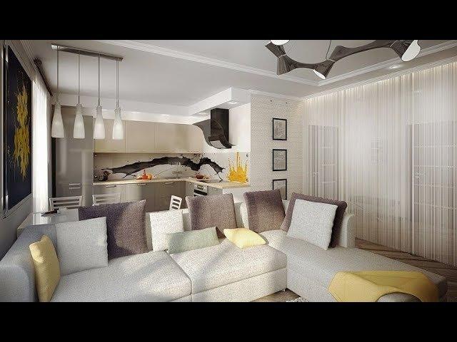 Кухня-гостиная 20 кв. метров идеи