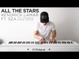 Kendrick Lamar ft. SZA - All The Stars The Theorist Piano Cover