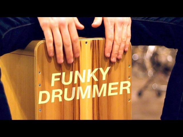 Cajon Lesson: How To Play Funky Drummer (James Brown) On Cajon