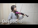 Despacito (Luis Fonsi ft. Daddy Yankee) - Electric Violin Cover (14Years old girl)
