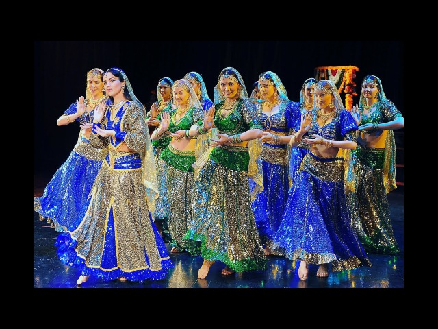 Chammak Challo, Indian Dance Group Mayuri, Russia, Petrozavodsk