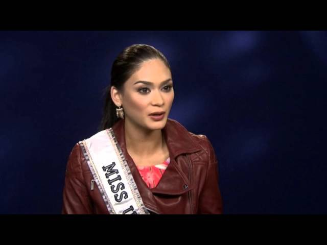 Pia Wurtzbach on what it takes to become Miss Universe