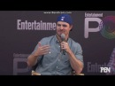 Grant Gustin Melissa Benoist Caity Lotz and Stephen Amell EW PopFest Panel Part 1