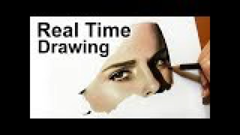 Real Time Drawing: Emma Watson