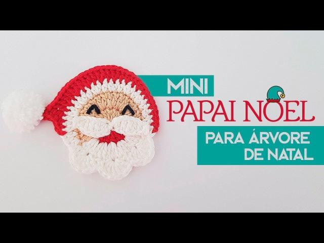 Luana Jaworski - Mini Papai Noel de Crochê