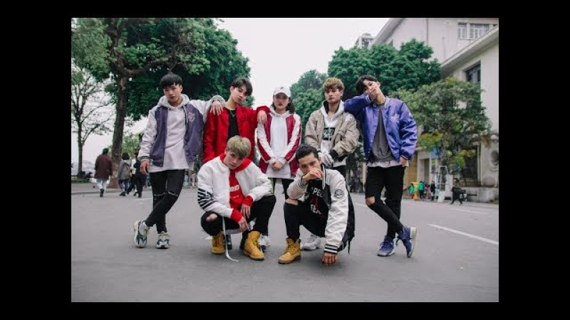 KPOP PUBLIC CHALLENGE BTS 방탄소년단 Not Today iKON '벌떼 B DAY Dance Cover @ from VietNam
