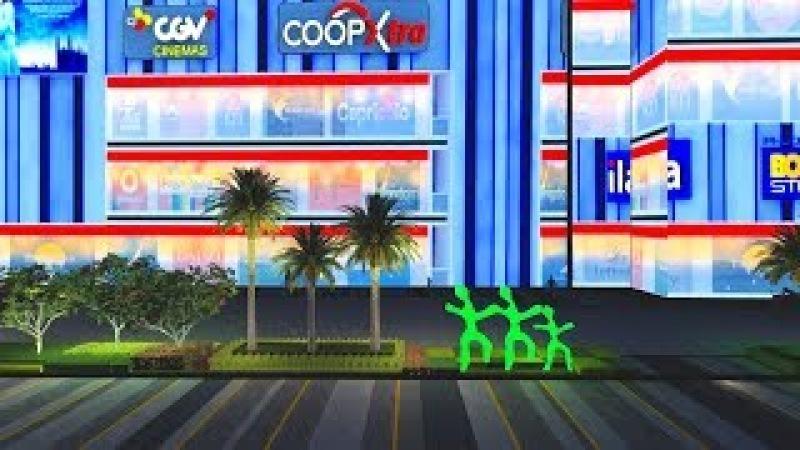 Thiết kế và thi công cảnh quan TTTM Vạn Hạnh Mall Quận 10 Tp HCM