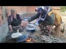 Cızlama, Akıtma,Krep nasıl Yapılır köyde doğal hayat