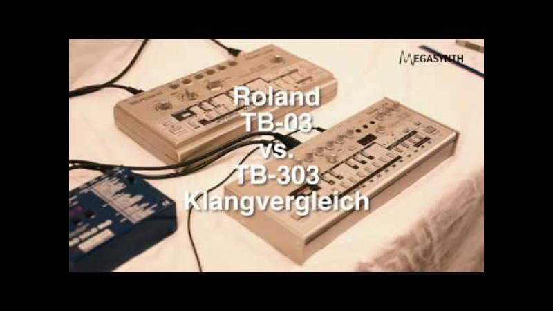 Roland TB 03 vs Roland TB 303 Shootout
