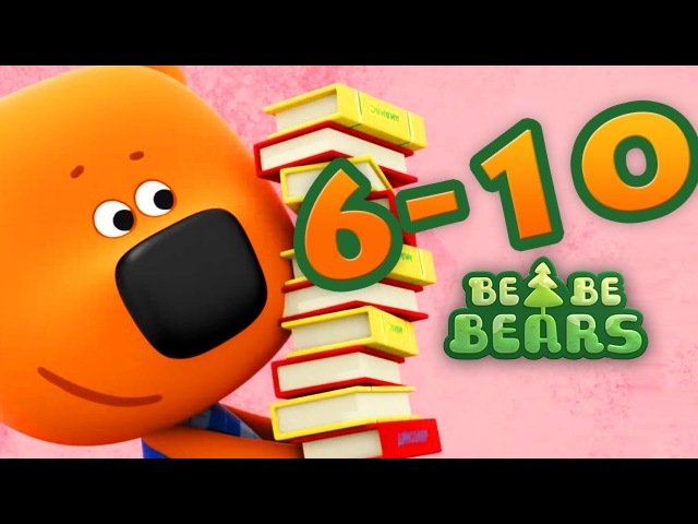 Bjorn and Bucky - all episodes compilation 6-10 - Moolt KidsToons - videos for kids
