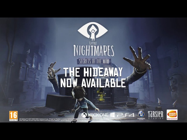Little Nightmares - The Hideaway - Expansion Pass DLC Trailer