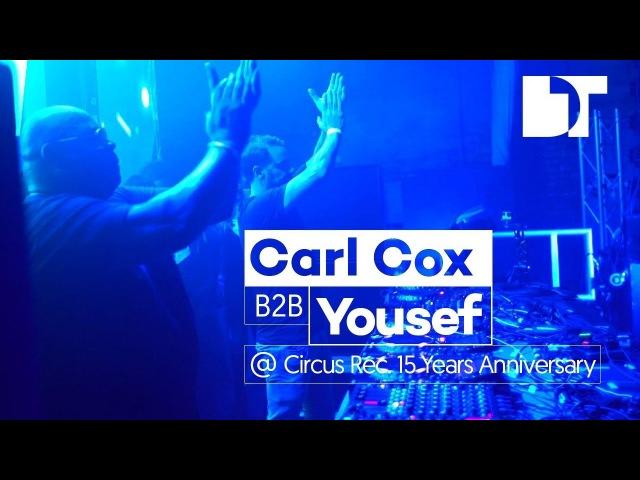 Carl Cox b2b Yousef at Camp and Furnace Circus 15th Anniversary Liverpool UK смотреть онлайн без регистрации