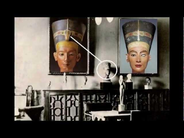 Фильм 5 Урей на бюсте Нефертити из дома Вильгельма II