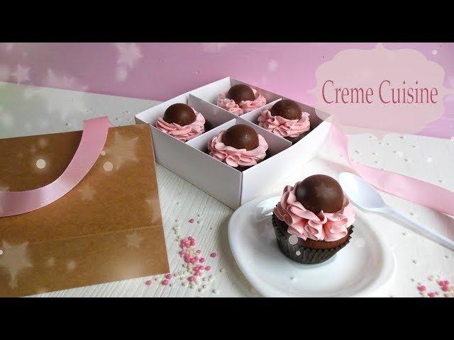 Воздушные шоколадные капкейкиКонфеты своими рукамиMoist Homemade Chocolate CupcakesCreme Cuisine