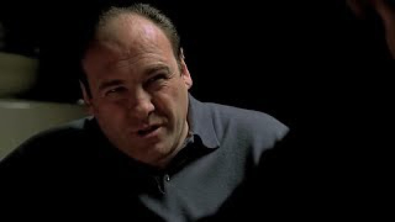 Tony And Ralph Talk About Jackie Jr. - The Sopranos HD