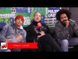 Major Lazer - секретное интервью для радио ENERGY