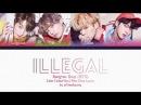 BTS (방탄소년단) - Illegal/Dimple (보조개) (Color Coded Lyrics Han/Rom/Eng)
