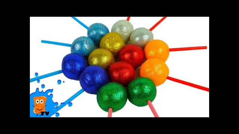 Учим цвета на английском Фигурки с Плей До Learn colors wiht Play Doh Spongik tv