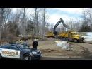 Sandy Hook Shooter's Home Demolished