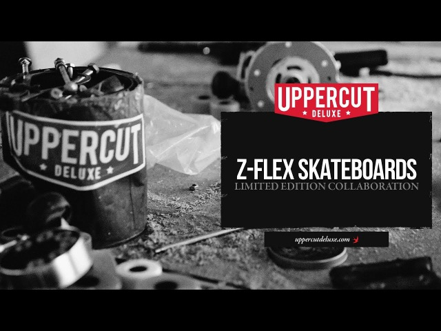 Z-Flex Skateboards x Uppercut Deluxe - Limited Edition