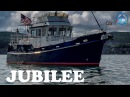ЯХТА ТРАУЛЕРНОГО ТИПА Trawler for Sale Diesel Duck 382 Jubilee Interior Off Market