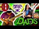 RINGS OF SATURN BERRIED ALIVE DADS GUITAR PLAY THROUGH