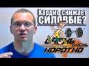 ООК 34 Кардио снижает силовые показатели Короткие советы Алексей Немцов