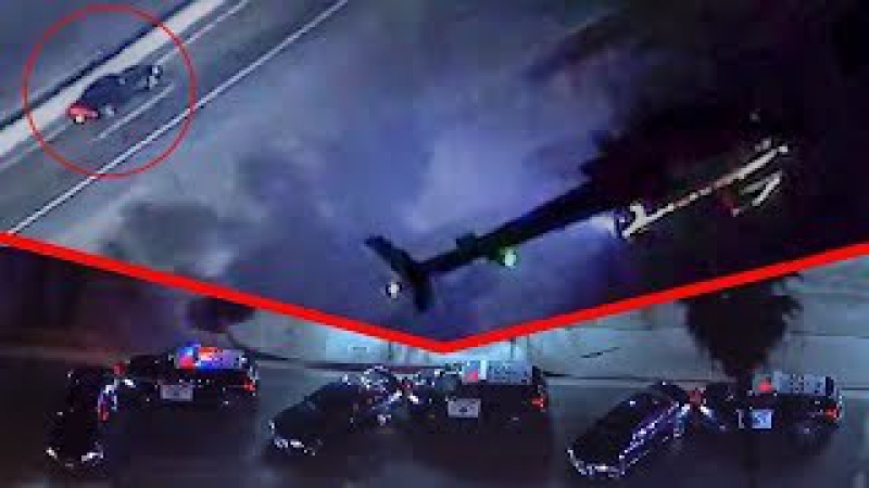 Погоня полиции за Додж Чарджер февраль 2018 New police chase Dodge Charger February 05