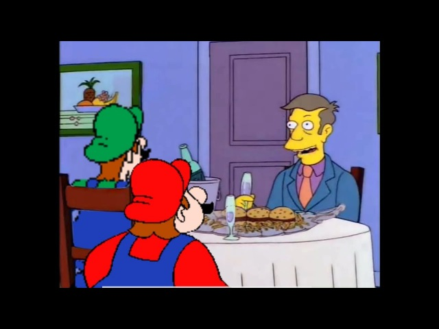 Steamed Hams but its a Hotel Mario crossover