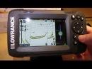 Эхолот Lowrance HOOK2 4x GPS Bullet распаковка Самый лучший бюджетный эхолот