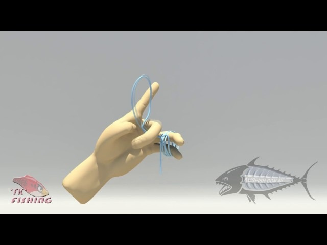 Как привязать два шнура*FG Fishing Knot