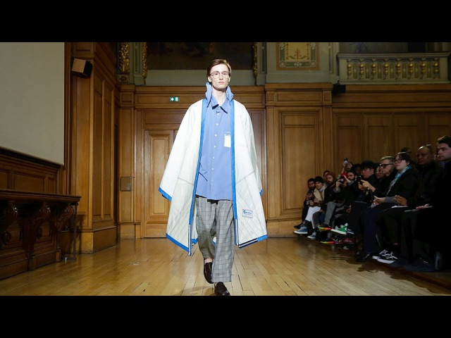 Hed Mayner Fall Winter 2018 2019 Full Fashion Show Exclusive