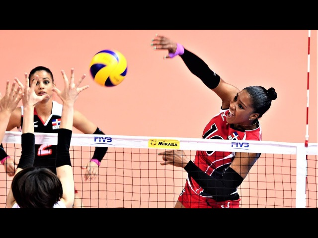 Top 10 Fantastic Volleyball SPIKES by Yonkaira Paola Pena İsabel | World Grand Prix 2017