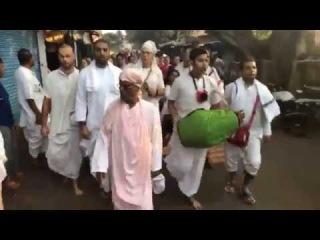 Нагара-санкиртана (2) - Джаганнатха-пури - 06.03.2018
