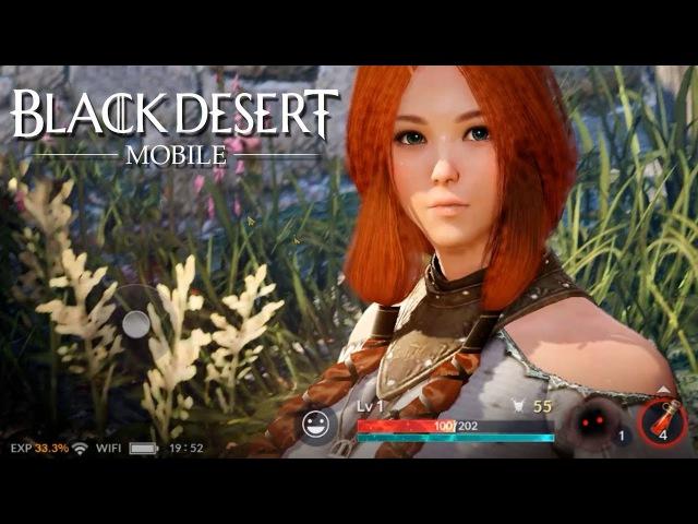 Black Desert Mobile CBT Starting Gameplay Preview
