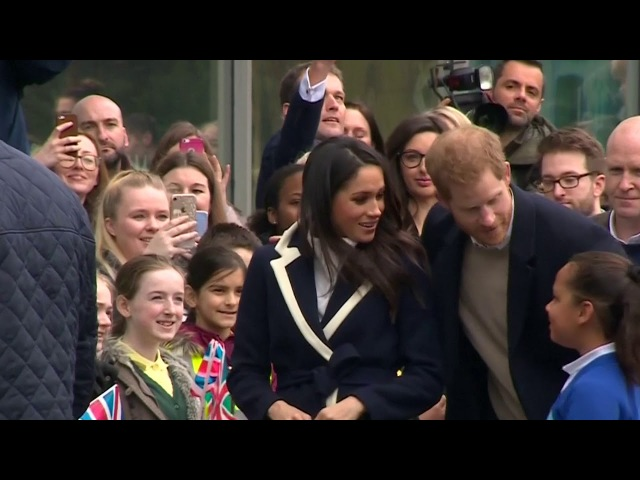 Prince Harry and Meghan Markle dazzle young and old in Birmingham