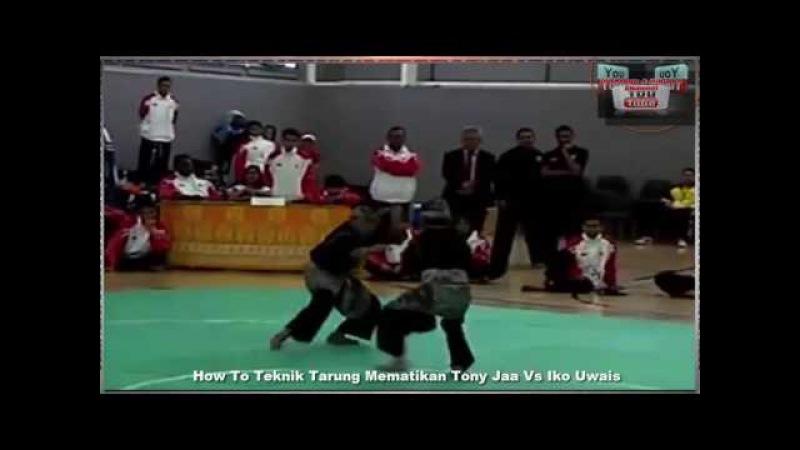Teknik Bela Diri Tony Jaa Vs Iko Uwais Demo Bela Diri Muay Thai Vs Pencak Silat