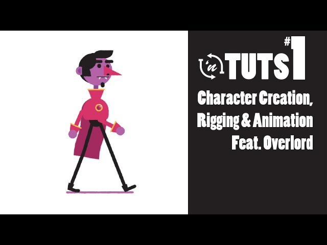 TnT Tuts - 1 - Character Creation, Rigging, Animation Feat. Overlord