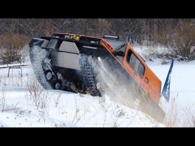 РУСАК-3918. Три сотни километров снега