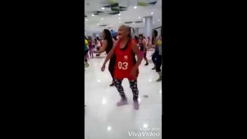 Amazing Zumba Dance by 80 Yrs Old Woman