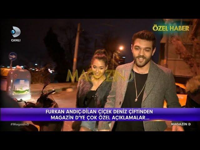 Furkan Andıç ve Dilan Çiçek Deniz el ele görüntülendi | Magazin D | 22 Şubat 2018
