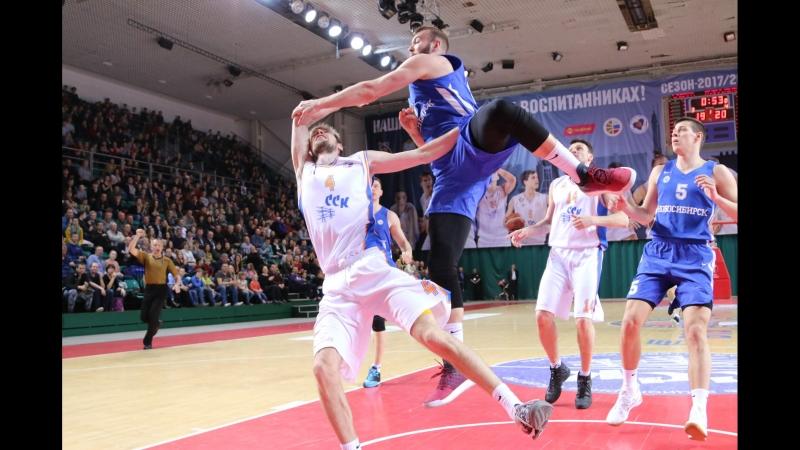 Самара — Новосибирск. Плей-офф. 1/2 финала. Обзор первого матча
